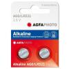 Agfaphoto alkáli gombelem LR521 AG0 (2db)