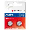 Agfaphoto alkáli gombelem LR66 AG4 (2db)