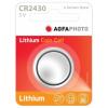 Agfaphoto lítium gombelem CR2430 (1db)