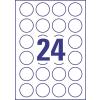 ETIKETT CÍMKE UNIVERZÁLIS 40 MM KÖR 24 DB/ÍV, 2400 DB/CSOMAG