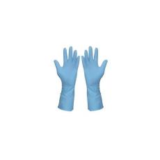 Háztartási gumikesztyű (kék), méret: 8