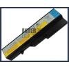 IdeaPad 121001091 4400 mAh 6 cella fekete notebook/laptop akku/akkumulátor utángyártott