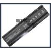 593553-001 4400 mAh 6 cella fekete notebook/laptop akku/akkumulátor utángyártott
