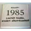 Tréfás póló 30 éves, Készült 1985...  (XXL)