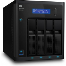 WD MYCLOUD EX4100 0TB 3.5IN 4 BAY EMPTY (WDBWZE0000NBK-EESN) egyéb hálózati eszköz