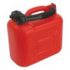 Benzines kanna, 5 literes műanyag kiöntővel (Benzines kanna)