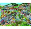 Heye puzzle 1500 db - Traffic Jam, Schöne puzzle, kirakós