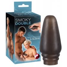 Smoky Double - 2in1 játékszer férfiaknak művagina