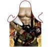 Itati Szexi tűzoltó kötény fantázia ruha