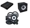 Crunch GPX-1000.4 + CRUNCH CRB-350 + CRUNCH GTI-6.2C autós dvd lejátszó