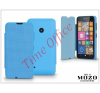 Mozo Nokia Lumia 530 flipes tok - Mozo Book Case - blue tablet tok