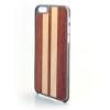 CreatiWood iPhone 6 csíkos hátlap makore/nyárfából