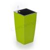 G21 Linea mini önöntöző kaspó, zöld, 14cm