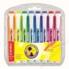 STABILO Szövegkiemelő készlet, 1-4 mm, STABILO Swing Cool, 8 különböző szín (TST27583)