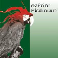 ezprint Utángyártott PGI-550BK XL black fekete chipes (PLATINUM) nyomtatópatron & toner