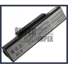 K73 Series 6600 mAh 9 cella fekete notebook/laptop akku/akkumulátor utángyártott
