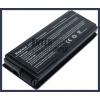 X50M 4400 mAh 6 cella fekete notebook/laptop akku/akkumulátor utángyártott
