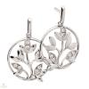 Silvertrends ezüst fülbevaló - ST1160