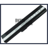 X42E 4400 mAh 6 cella fekete notebook/laptop akku/akkumulátor utángyártott