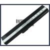 A42QR 4400 mAh 6 cella fekete notebook/laptop akku/akkumulátor utángyártott