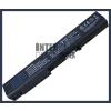 EliteBook 8730w 4400 mAh 8 cella fekete notebook/laptop akku/akkumulátor utángyártott