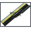 IdeaPad Z360A-PSI 4400 mAh 6 cella fekete notebook/laptop akku/akkumulátor utángyártott lenovo notebook akkumulátor