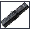 Toshiba PABAS228 4400 mAh 6 cella fekete notebook/laptop akku/akkumulátor utángyártott