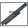 Sony VPC-EA2S1E/B 4400 mAh 6 cella fekete notebook/laptop akku/akkumulátor utángyártott