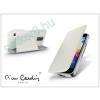 Slim Slim Flip bőrtok - Samsung SM-G386 Galaxy Core LTE - fekete