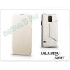 Slim Slim Flexi Flip bőrtok - Alcatel One Touch Scribe HD (8008D) - fekete
