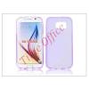 Haffner Samsung SM-G920 Galaxy S6 szilikon hátlap - S-Line - lila