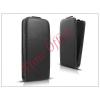 Haffner Slim Flexi Flip bőrtok - Sony Xperia M4 Aqua (E2303/E2306/E2353) - fekete