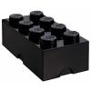 LEGO 2x4 tárolódoboz fekete (40041733)