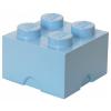 LEGO 2x2 tárolódoboz azúr (40031743)