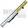 4ICR18/65 2200 mAh 4 cella fekete notebook/laptop akku/akkumulátor utángyártott