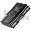 NBP8A88 4400 mAh 8 cella fekete notebook/laptop akku/akkumulátor utángyártott