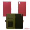 CELLECT Sony Xperia E4 Flip oldalra nyiló tok,Pink