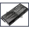 MSI 957-173XXP-102 4400 mAh 6 cella fekete notebook/laptop akku/akkumulátor utángyártott