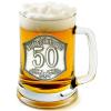 Óncímkés sörös korsó 45, 50 éves (2.)