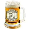 Óncímkés sörös korsó 25, 30 éves  (1.)