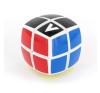 V-Cube 2x2 versenykocka, fehér, lekerekített, matrica nélküli logikai játék