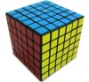 V-Cube V-CUBE 6×6 versenykocka, fekete, egyenes logikai játék
