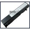 Toshiba DynaBook Satellite T20 Series 4400 mAh 6 cella fekete notebook/laptop akku/akkumulátor utángyártott
