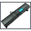 Toshiba Equium M50 4400 mAh 6 cella fekete notebook/laptop akku/akkumulátor utángyártott