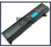 Toshiba Satellite M115 series 4400 mAh 6 cella fekete notebook/laptop akku/akkumulátor utángyártott toshiba notebook akkumulátor