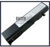 Toshiba Satellite U200 Series 4400 mAh 6 cella fekete notebook/laptop akku/akkumulátor utángyártott toshiba notebook akkumulátor