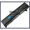 Toshiba PA3451U-1BRS 4400 mAh 6 cella fekete notebook/laptop akku/akkumulátor utángyártott