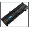 Toshiba PABAS069 6600 mAh 9 cella fekete notebook/laptop akku/akkumulátor utángyártott