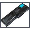 Toshiba Satellite X205 Series 6600 mAh 9 cella fekete notebook/laptop akku/akkumulátor utángyártott