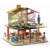 DJECO Színes babaház - Colour house House sold empty